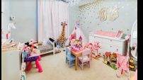 When the play room was her bedroom